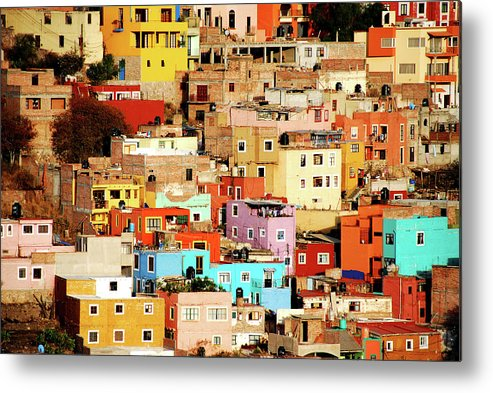 Tranquility Metal Print featuring the photograph Colors On Hill by Nan Zhong