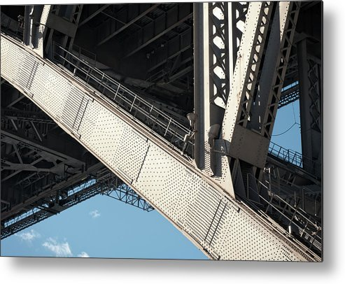 Toughness Metal Print featuring the photograph Engineered For Strength by Georgeclerk