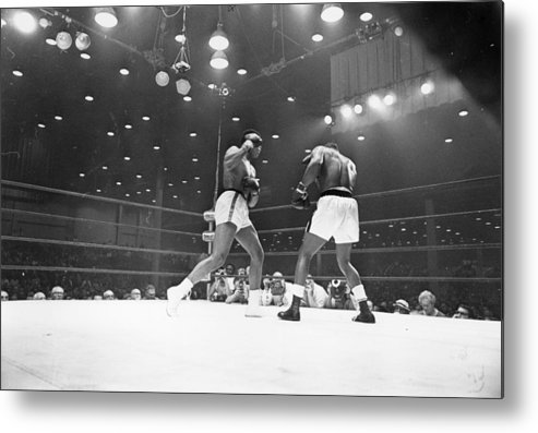 People Metal Print featuring the photograph Heavyweight Title by Harry Benson