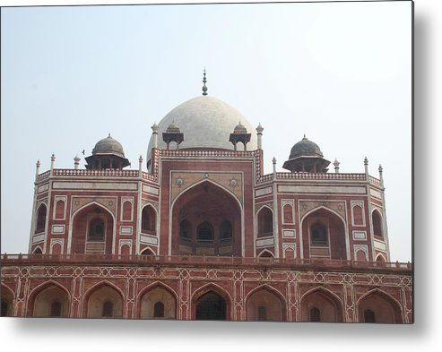 Arch Metal Print featuring the photograph Humayuns Tomb, Delhi by Brajeshwar.me