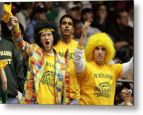 Michigan State University Metal Print featuring the photograph Michigan State Spartans V George Mason by Andy Lyons