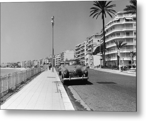 Scenics Metal Print featuring the photograph Nice Seafront by Fpg