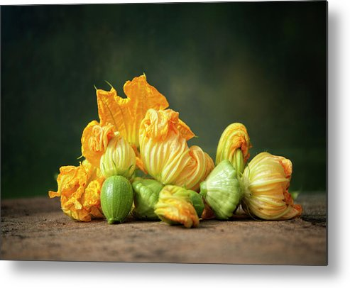 Healthy Eating Metal Print featuring the photograph Patty Pans by Jojo1 Photography