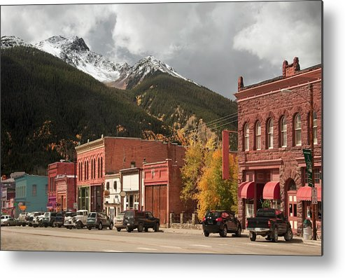San Juan Mountains Metal Print featuring the photograph Silverton, Colorado by Missing35mm