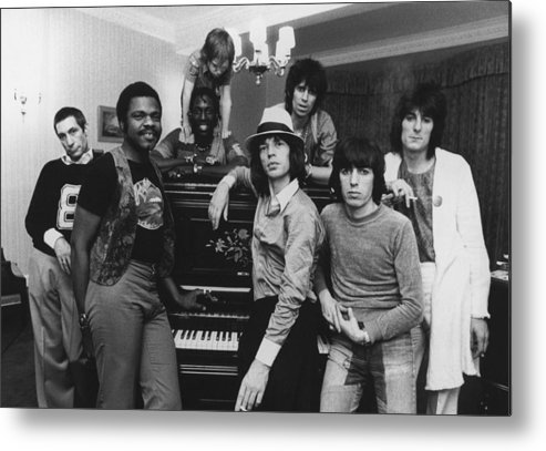 Rock Music Metal Print featuring the photograph Stones After Hours by Express