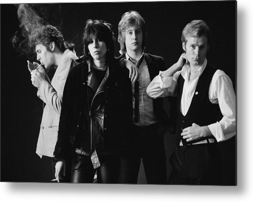 People Metal Print featuring the photograph The Pretenders by Fin Costello