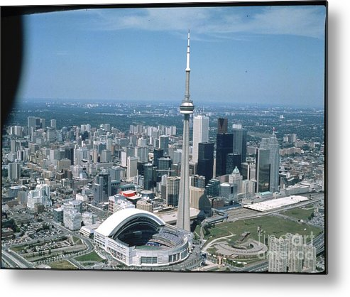 American League Baseball Metal Print featuring the photograph Toronto Blue Jays by Mlb Photos
