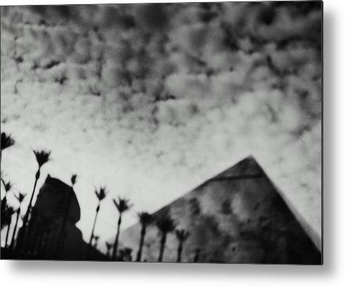 Hotel Metal Print featuring the photograph Usa,nevada,las Vegas,luxor Hotel by Seth Joel