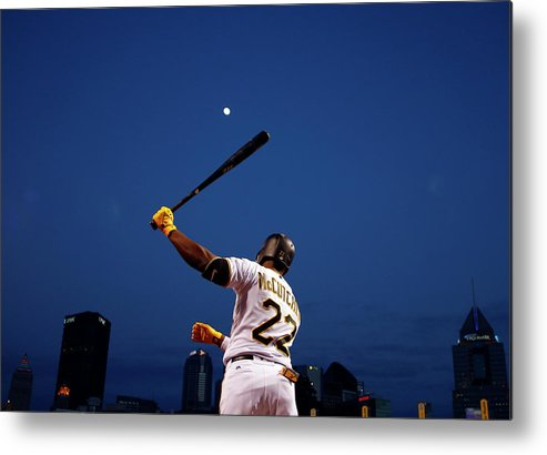 Andrew Mccutchen Metal Print featuring the photograph Andrew Mccutchen by Justin K. Aller