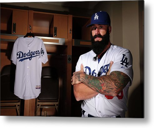 Media Day Metal Print featuring the photograph Brian Wilson by Christian Petersen