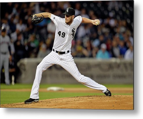 Second Inning Metal Print featuring the photograph Chris Sale by Brian Kersey
