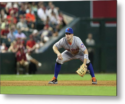 Motion Metal Print featuring the photograph David Wright by Christian Petersen