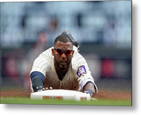 People Metal Print featuring the photograph Eduardo Nunez by Hannah Foslien