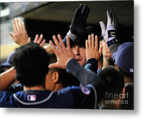 People Metal Print featuring the photograph Jim Thome by Hannah Foslien