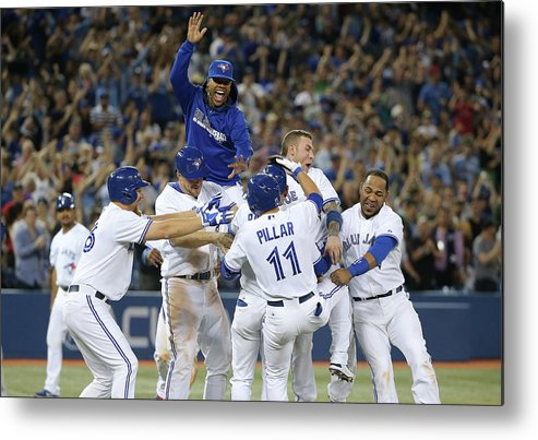 Ninth Inning Metal Print featuring the photograph Kevin Rogers by Tom Szczerbowski