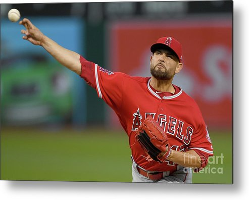 Three Quarter Length Metal Print featuring the photograph Ricky Nolasco by Thearon W. Henderson