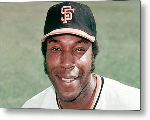 People Metal Print featuring the photograph Willie Mccovey by Mlb Photos