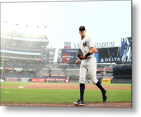 People Metal Print featuring the photograph Aaron Judge by Elsa