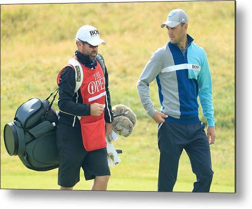 Three Quarter Length Metal Print featuring the photograph 146th Open Championship - Final Round by Andrew Redington