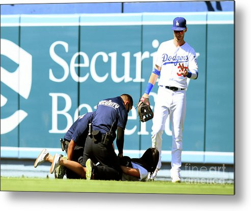 People Metal Print featuring the photograph Cody Bellinger by Harry How
