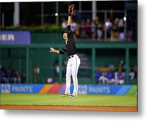 People Metal Print featuring the photograph Jung Ho Kang by Jared Wickerham