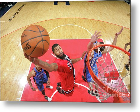 Nba Pro Basketball Metal Print featuring the photograph Markieff Morris by Ned Dishman
