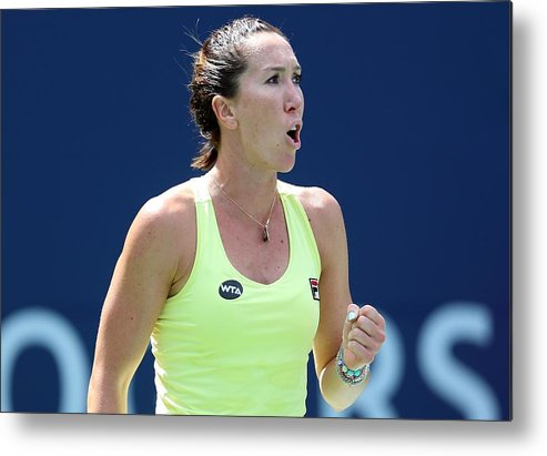 Tennis Metal Print featuring the photograph Rogers Cup Toronto - Day 2 by Vaughn Ridley
