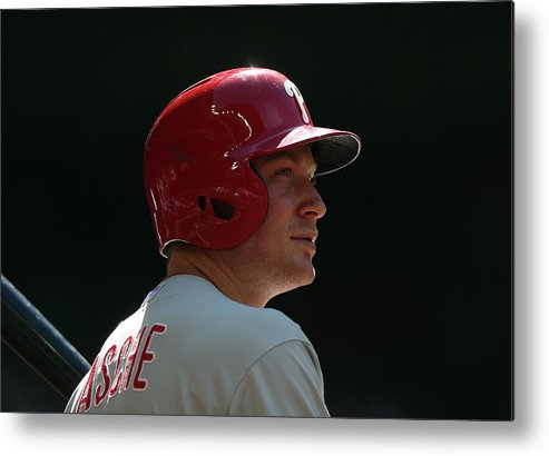 Cody Asche Metal Print featuring the photograph Cody Asche by Christian Petersen