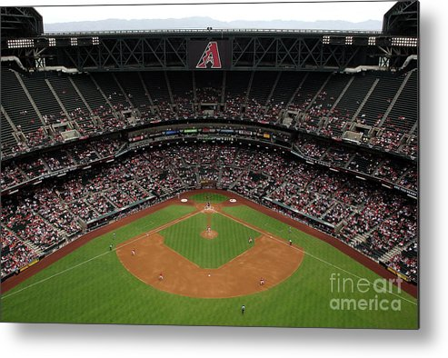 Motion Metal Print featuring the photograph Josh Fields by Christian Petersen
