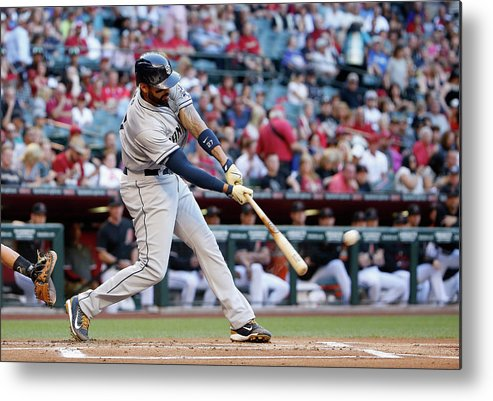 People Metal Print featuring the photograph Matt Kemp by Christian Petersen