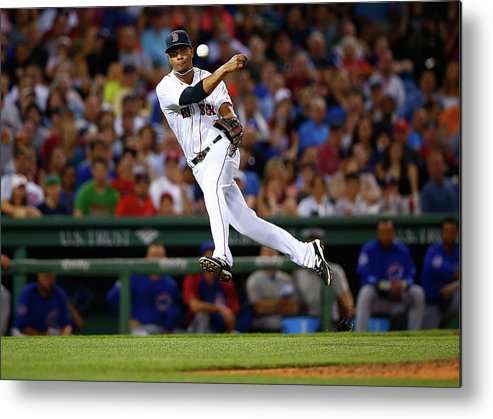 American League Baseball Metal Print featuring the photograph Xander Bogaerts by Jared Wickerham