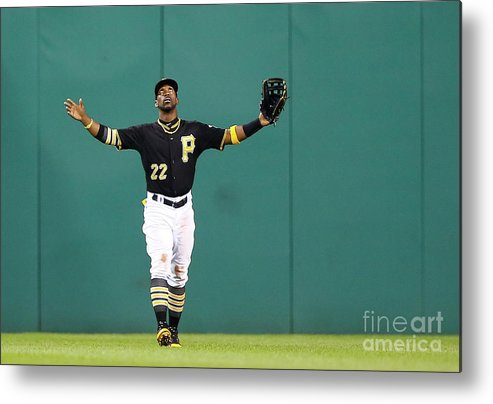 People Metal Print featuring the photograph Andrew Mccutchen by Jared Wickerham
