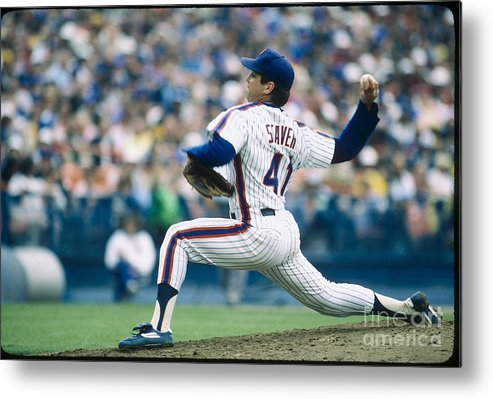 Tom Seaver Metal Print featuring the photograph Tom York by Rich Pilling