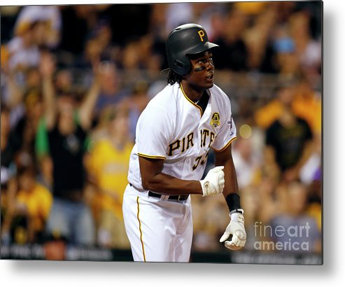 Three Quarter Length Metal Print featuring the photograph Josh Bell by Justin K. Aller
