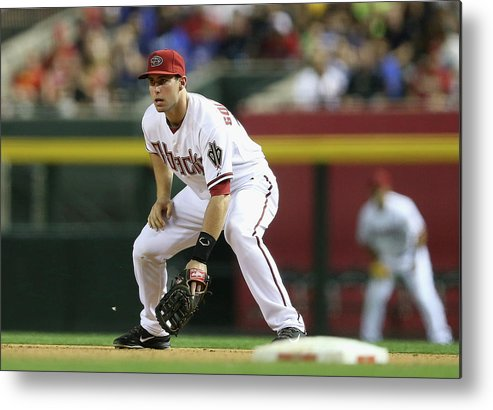 Motion Metal Print featuring the photograph Paul Goldschmidt by Christian Petersen
