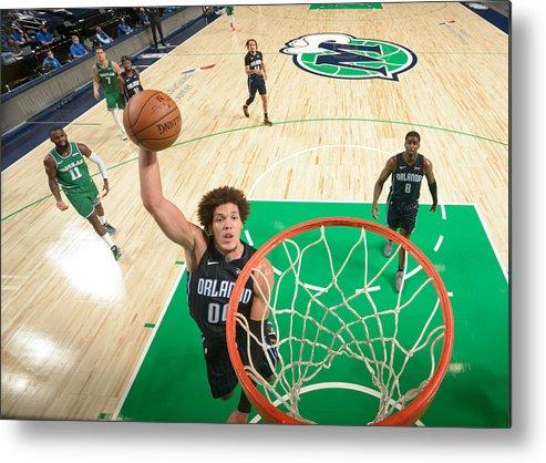 Nba Pro Basketball Metal Print featuring the photograph Aaron Gordon by Glenn James