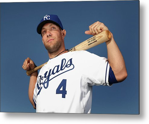 Media Day Metal Print featuring the photograph Alex Gordon by Christian Petersen