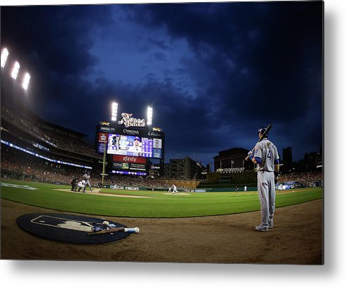 People Metal Print featuring the photograph Alex Gordon by Gregory Shamus