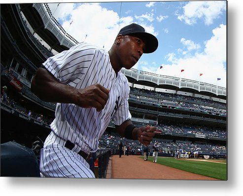 Alfonso Soriano Metal Print featuring the photograph Alfonso Soriano by Al Bello