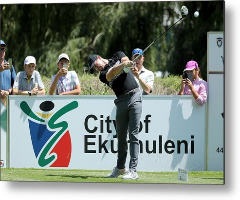 Pro-am Metal Print featuring the photograph BMW South African Open Championship - Previews by David Cannon
