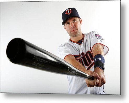 Media Day Metal Print featuring the photograph Brian Dozier by Brian Blanco