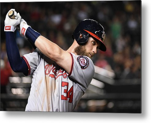 People Metal Print featuring the photograph Bryce Harper by Norm Hall