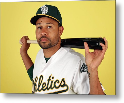 Media Day Metal Print featuring the photograph Coco Crisp by Christian Petersen