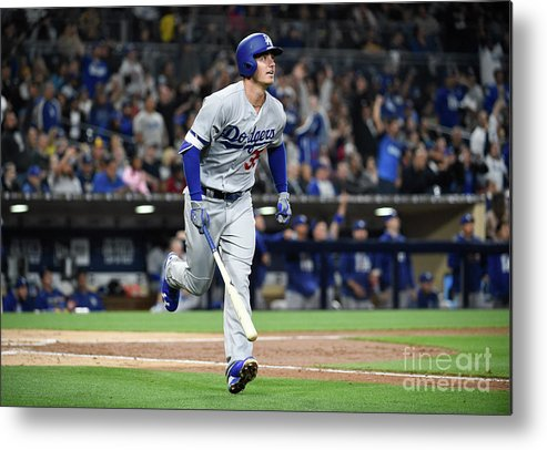People Metal Print featuring the photograph Cody Bellinger by Denis Poroy