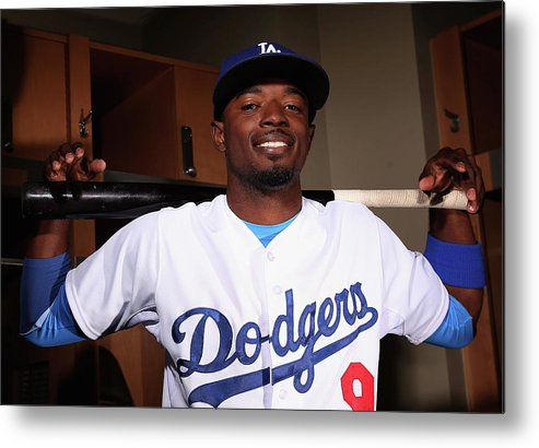 Media Day Metal Print featuring the photograph Dee Gordon by Christian Petersen