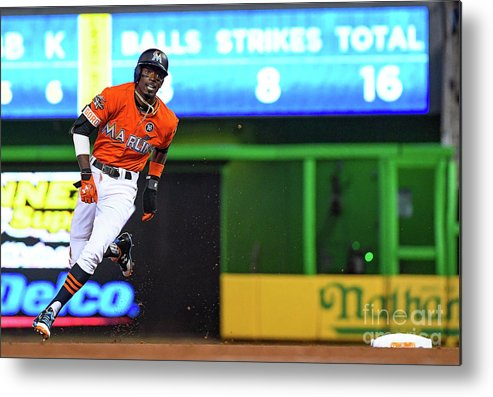 People Metal Print featuring the photograph Dee Gordon by Mark Brown