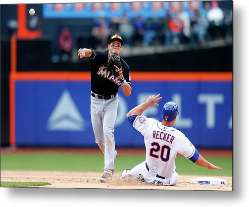 Double Play Metal Print featuring the photograph Derek Dietrich by Jim Mcisaac