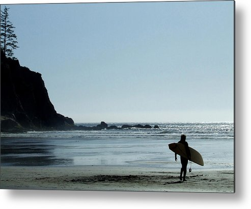 Surf Metal Print featuring the photograph Dude by Everett Bowers