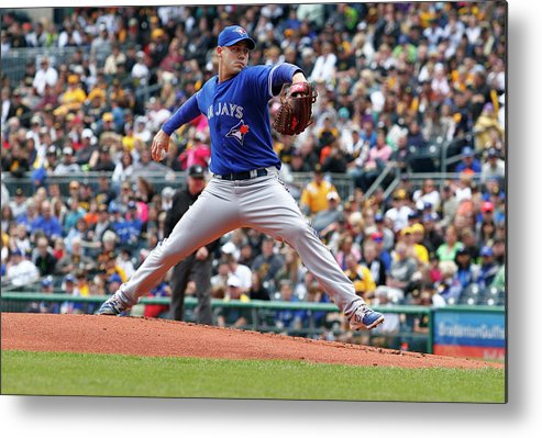 Professional Sport Metal Print featuring the photograph Dustin Mcgowan by Justin K. Aller
