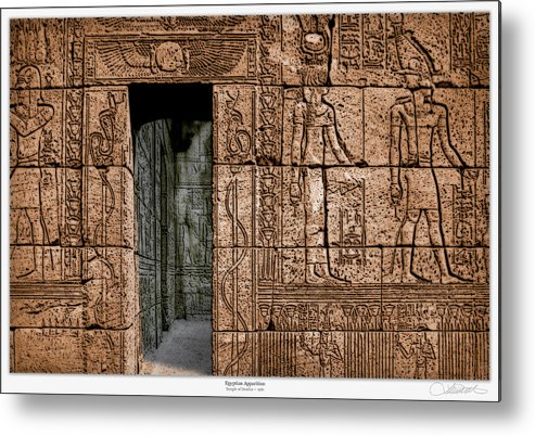 Egypt Metal Print featuring the photograph Egyptian Apparition by Lar Matre